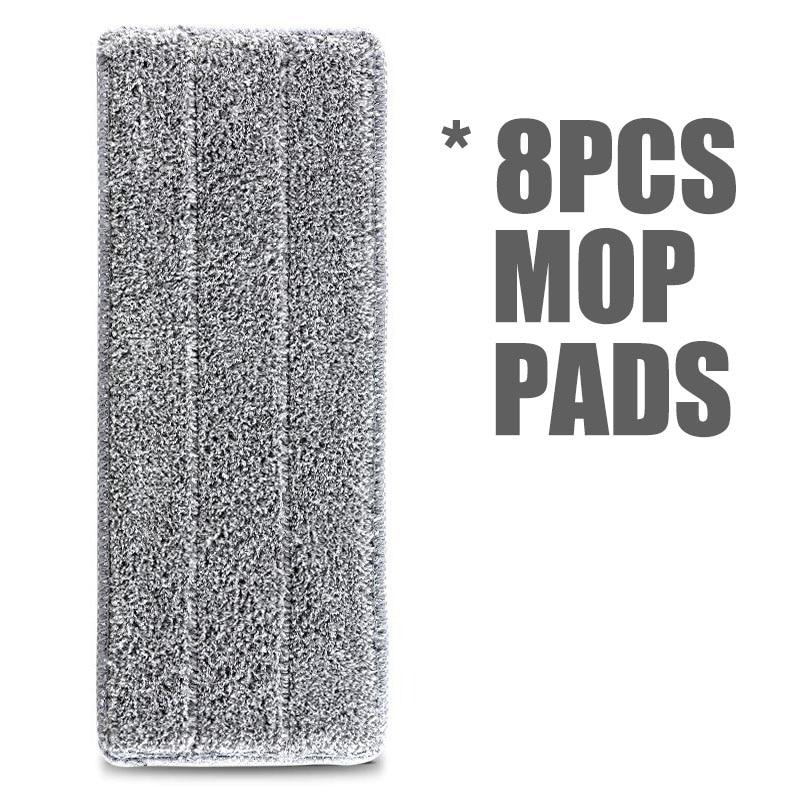 8pcs Mop Pads