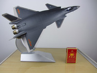 2017 Edition J 20 fighter model Alloy J20 aircraft model ornaments collection gift show 1:48 scale