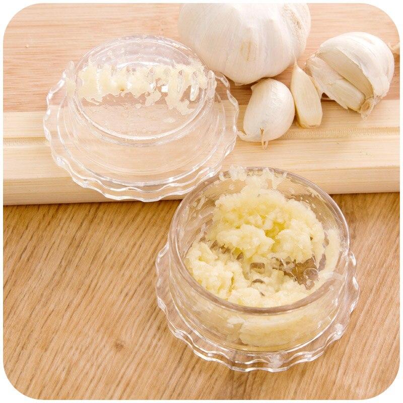 Multi Functional Garlic Press Kitchen Gadgets Stir Garlic Peeler Crusher Cooking