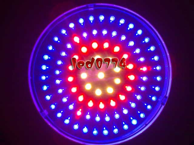 купить LED grow light Free shipping New 90W LED UFO Red460NM&630NM&White 6:2:1 Plant Hydroponic Lamp plant grow Lights недорого