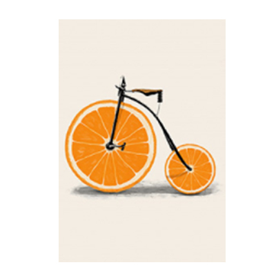 Us 3 49 50 Off Abstract Fashion Bike Lemon Orange Fruit Print Canvas Paintings Kitchen Decor Nordic Pop Posters Minimalist Wall Art Pictures In