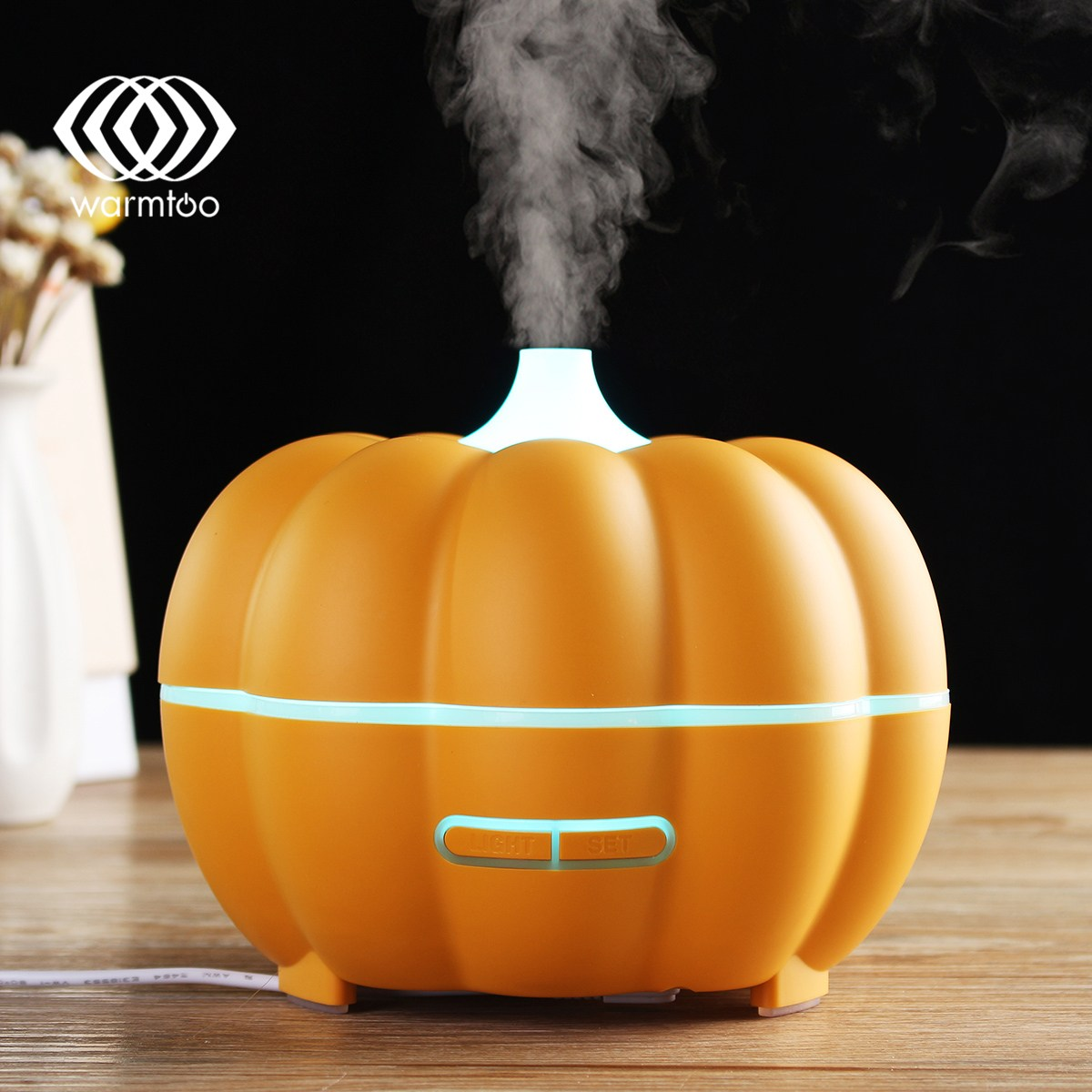 Warmtoo Convenient WiFi Smart Essential Oil Aroma Diffuser Humidifier For Alexa Google Home APP Timing Control все цены