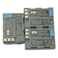 DSTE 3 Pcs 2200 MAh EN EL3E Rechargeable Battery For Nikon D70 D70S D80 D90 D100