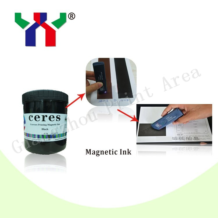 1000g can Gravure Printing Magnetic Ink Black Color Anti forgery Ink Fedex Fast Delivery 5 6