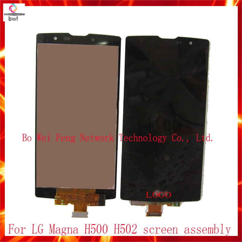 ФОТО 100% Tested For LG Magna H500 H500F H502 LCD Display+Touch Digitizer Screen Glass Sensor With Or no Frame+Tool Free Shipping