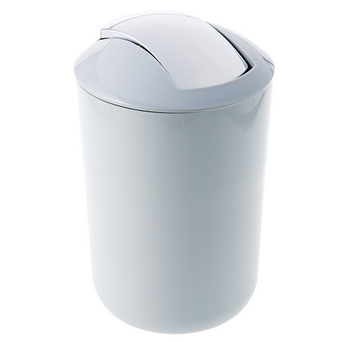 Mini Plastic Trash Can With Lid Brief Mini Rocking Cover Trash Can Bathroom Kitchen Goods Plastic