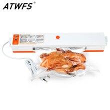 ATWFS הטוב ביותר מזון ואקום אוטם אריזת אריזה מכונה סרט מטבח מזון שומר מיני ואקום מיכל עם 15pcs Vacum