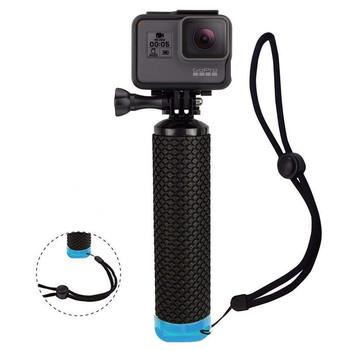 Wodoodporny pływający uchwyt do kamery GoPro Hero 8 7 sesja Hero 6 5 4 3 + 2 akcesoria do kamer sportowych do sportów wodnych tanie i dobre opinie T ACYML Waterproof Floating Hand Grip Rękojeści Finger Rowki Pakiet 1 Yellow Purple Green Blue Orange 80 g NON-SLIP GRIP HANDLE FOR TIGHT GRIP