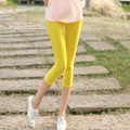 SUMMER High elastic leggings Women Running Sport Pants Candy color Leggings Fitness Trousers 15 COLORS