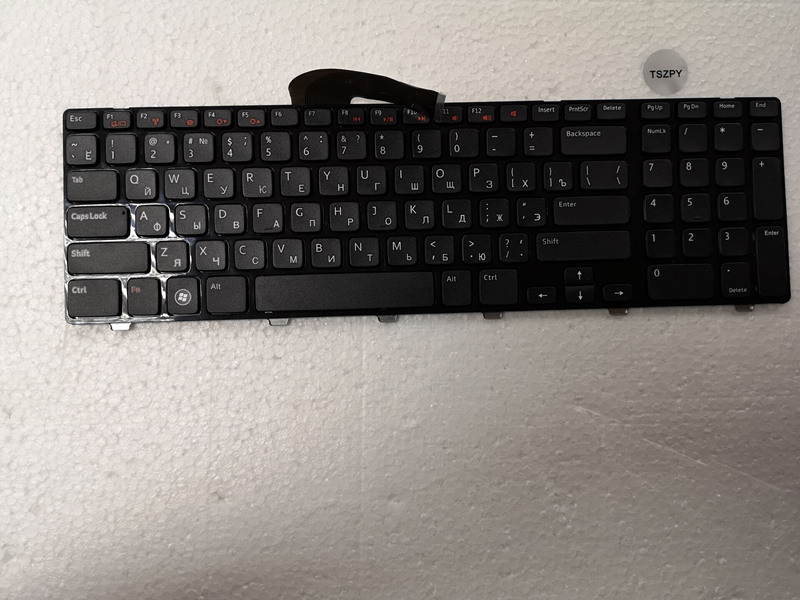 Brand New Russian Keyboard for Dell Inspiron 17R N7110 17R 7110 XPS 17 L702X Vostro 3750 V3750 0454RX V119725AS1 RU keyboard шлифовальный круг top 99946 для dell inspiron 17r n7110 7720 3721 5720 5721 vostro 3350 3450 3550 3750 xps17 l702x black