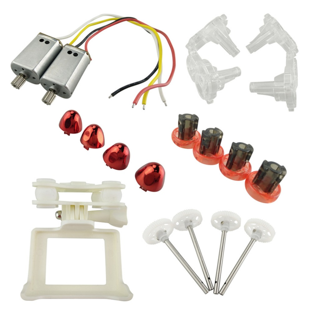 New aircraft parts for SYMA X8SW X8SC remote control helicopter fan blade main gear motor camera frame spindle sleeve motor rack 3pcs lithium battery and european regulators with 1 care 3 conversion cable for syma x8sw x8sc remote control helicopter battery