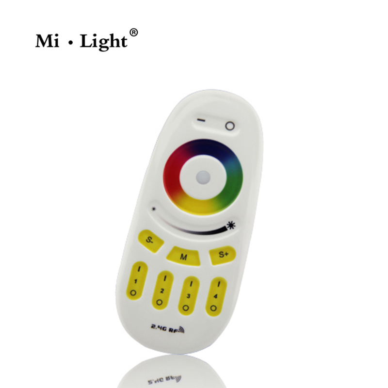 Milight FUT096 2.4G LED Bulbs RGBW controller LED lighting Group Division 4 Zone RF Transmission 2.4G Remote Controller