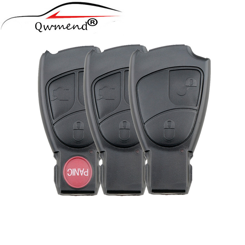 Replacement Shell Smart Remote Car Key Case 2 3 4 Buttons