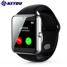 Keyou Q7S smart watches smartphone smart watch android camera sim function message reminder smart wacht android 5.1