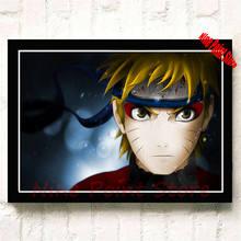 Naruto Uzumaki Uchiha Retro Poster