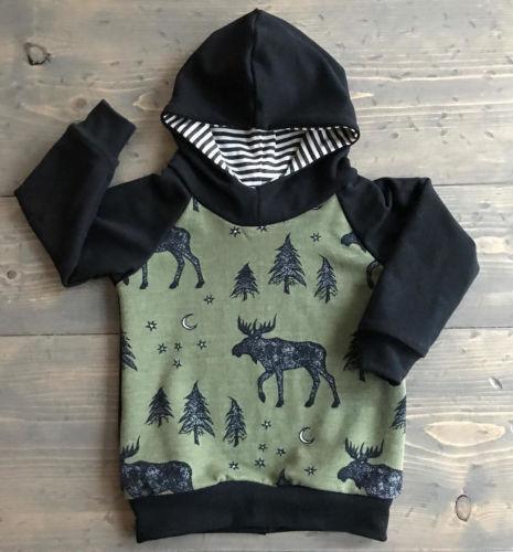 Systematisch Herbst Baby Jungen Kleidung Sweatshirt Reindeer Print Baby Kinder Tops Pullover Kinder 6 Mt-4 T Lassen Sie Unsere Waren In Die Welt Gehen