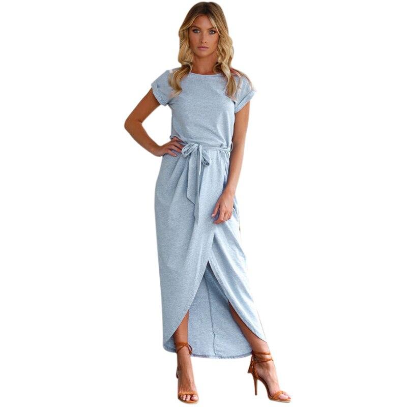 Summer dress women vintage boho long dresses Women elegant Evening Party  Night dress bohemian Style Casual maxi dress Sundress-in Dresses from  Women s ... a2de5a36bd4f