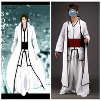 Ainclu Adult Bleach Aizen is installed Cosplay Costume for Halloween Party