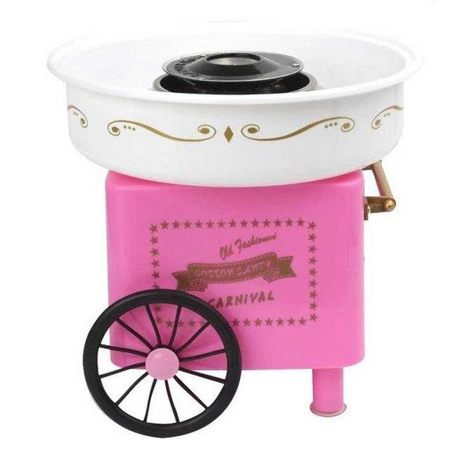 뜨거운! 미니 달콤한 자동 솜사탕 기계 홈 Diy 솜사탕 기계 설탕 기계