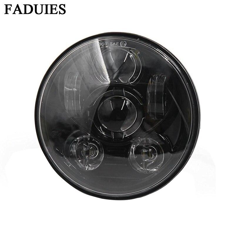 Accessoires de moto FADUIES 5.75 phare LED de moto pour 5-3/4 phare de moto noirAccessoires de moto FADUIES 5.75 phare LED de moto pour 5-3/4 phare de moto noir