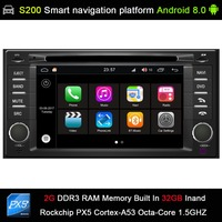 Android 8.0 8 Octa Core 32GB INAND flash CAR DVD PLAYER GPS for Subaru Forester/Impreza 2008 2012 Car audio Player