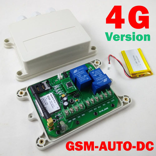 on Board Clock For Your Timer Working Function 4g Lte 3g Gsm-auto Double Big Relay Gsm Remote Switch One Alarm Input Port In Short Supply