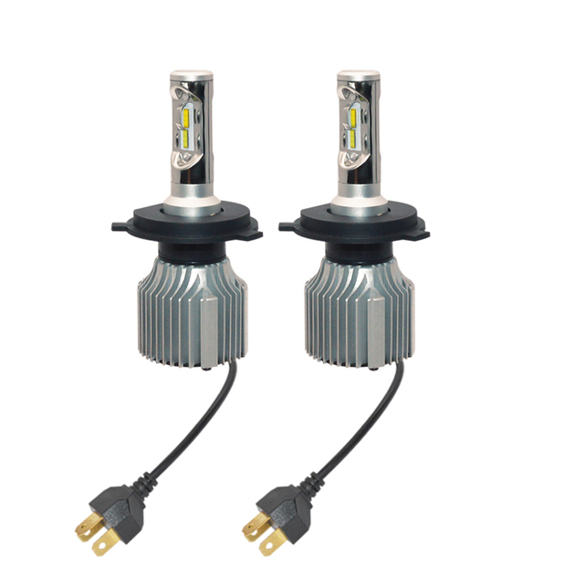 US $39 2 20% OFF|V1 H4 9003 HB2 Led Headlight Bulb PhilipsChip Conversion  Kit Hi/Lo Beam Dual Color Yellow&White 2 In 1 Led Bulbs 3Yr Warranty-in Car