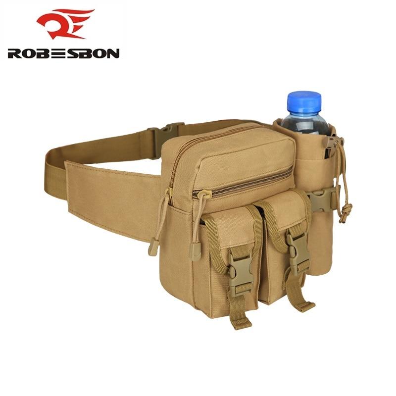 Prix pour Unisexe 1000 D Nylon Jungle Camouflage Désert Numérique Bouilloire Poches Taille Sacs Pack Sport Pour Escalade En Plein Air Randonnée Voyage