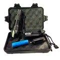 1 компл. черная коробка подарка E17 3800 люмен XM-L2 светодиодный фонарик регулируемый фокус аккумуляторная фонарик + 18650 аккумулятор + ЕС/США зарядное устройство