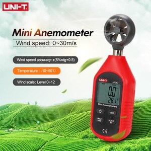 Image 4 - UNI T UT363 Handheld Anemometer Digital Wind Speed Measurement Temperature Tester LCD Display Air Flow Speed Wind Meter