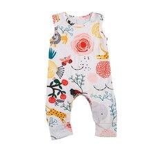 Pudcoco новорожденный малыш для маленьких мальчиков девушка животных одежда праздник комбинезон Пляжный наряд 0-24 м
