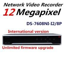 На Складе Английская Версия DS-7608NI-I2/8 P 2 SATA и NVR 8-КАНАЛЬНЫЙ HD 1080 P Поддержку сторонних камера, Plug & Play H.265