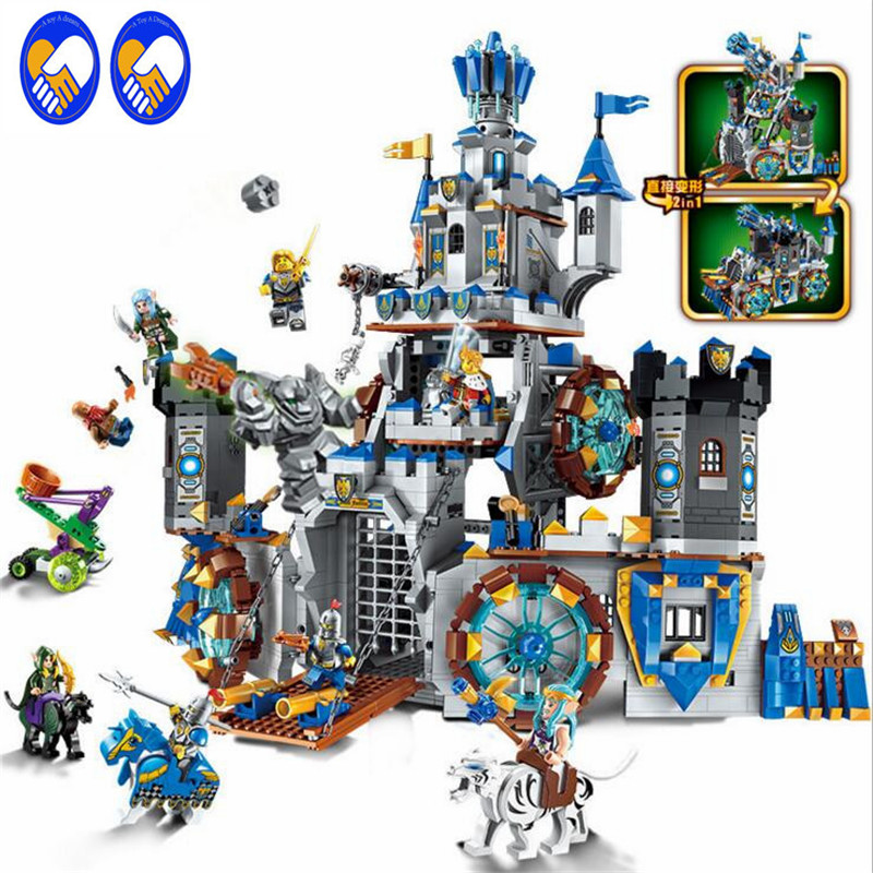 A Toy A Dream Enlighten 2317 Building Block War of Glory Castle Knights The Battle Bunker 1541pcs Educational Bricks Toys rollercoasters the war of the worlds