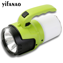 35W Powerful LED Flashlight Torch Rechargeable USB Bright Searchlights Camp Built-in 4000mAh Lithium Battery Long Working Time