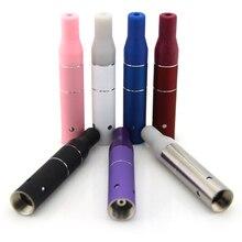 5pcs/lot dry herb vaporizer E-Cigarette tank ago atomizer Replaceable Coil tank fit ego/evod battery vape pen tank