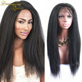 7A Italian Yaki Full Lace Human Hair Wigs For Black Women Mongolian Full Lace Hair Wig Kinky Straight Lace Front Human Hair Wigs