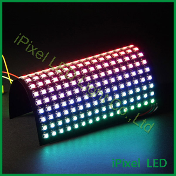 DC5v 256pcs 16 x16 Pixel ws2812b Flexible RGB Led Matrix Background screen