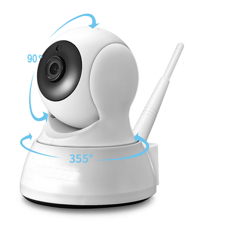Wifi Camera 720P Indoor Home Security IP Camera Two Way Audio Wireless Mini Camera Night Vision CCTV WiFi Camera Baby MonitorWifi Camera 720P Indoor Home Security IP Camera Two Way Audio Wireless Mini Camera Night Vision CCTV WiFi Camera Baby Monitor