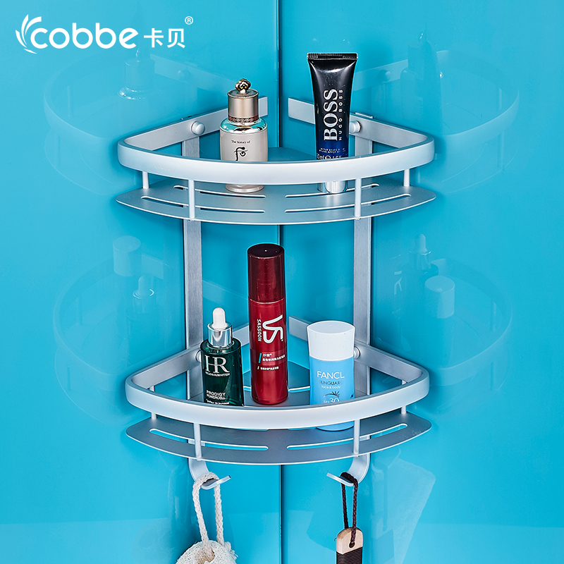 Modernos accesorios de baño ducha canasta de almacenamiento de baño estante de a