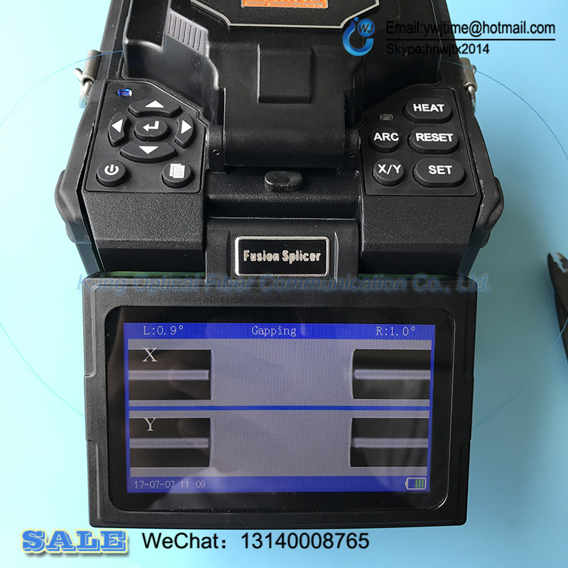 English menu I3 Multi-function Fiber Fusion Splicer/ Fiber Optic Splicing Machine I3 FTTH fiber optic fusion splicerEnglish menu I3 Multi-function Fiber Fusion Splicer/ Fiber Optic Splicing Machine I3 FTTH fiber optic fusion splicer