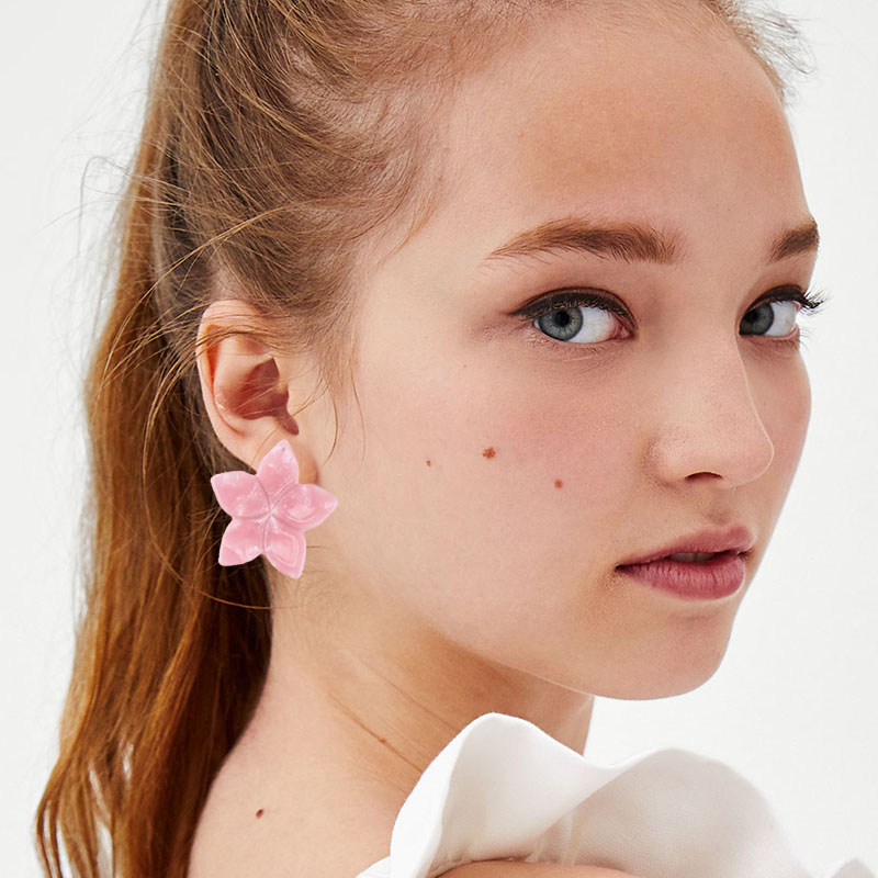 Best lady Charm Flower Stud Earrings For Women Fashion Special Design Luxury Statement Wedding Party Gifts Hot Wholesale