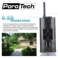 Free Shipping HC700G 16MP 940nm Night Vision Hunting Camera 3G GPRS MMS SMTP SMS 1080P Wildlife