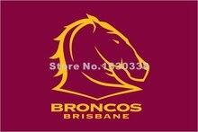 Brisbane Broncos Flag 3ft X 5ft National Rugby League NRL Banner Size 4 144* 96cm Flag