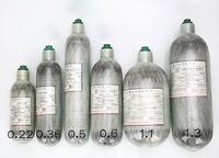 High Quality SCBA Cylinder Carbon Fiber Cylinder Small Composite Bottle PCP Cylinder 1 1L 1100CC Free