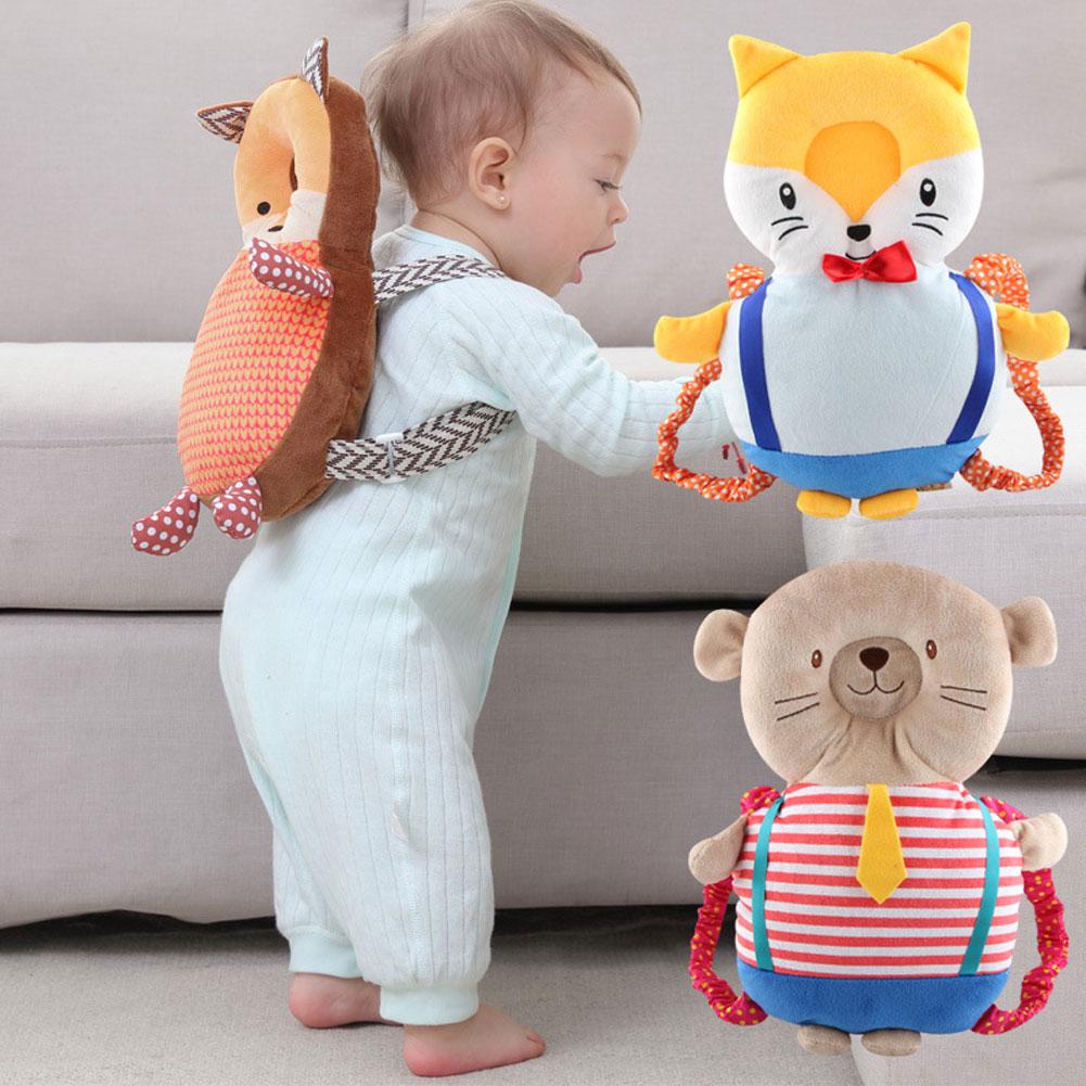 Newborn Baby Head Protection Pad Headrest Animals Pillow Neck Drop Resistance Cushion Plush Toy M09