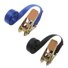 High Quality 1PC Travel Zinc Alloy Buckle Tie-Down Car Luggage Cargo Lashing Strap 1m to 5m 2019 New