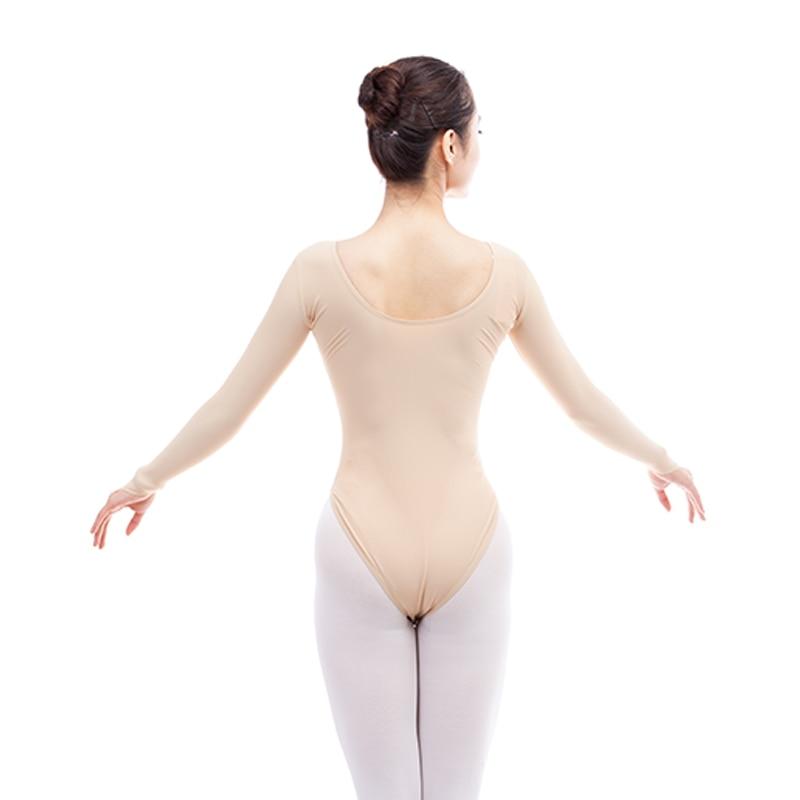 Haut Farbe Ballett Tanzen Trikot Frauen Mädchen Erwachsene