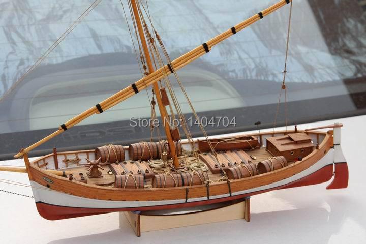 NIDALE Model Sacle 1/48 klassieke Oude Zeilboot model kit: Mediterrane LEUDO 1800 1900 Schip Houten Model-in Modelbouwen Kits van Speelgoed & Hobbies op  Groep 1