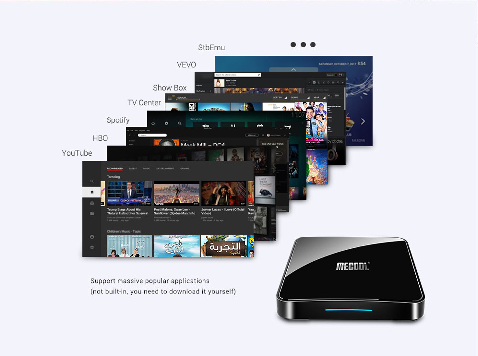 KM3 IPTV France Spain Arabic Android 9.0 SUBTV Subscription 1 Year Code 4G 64G BT 4.0 4K IPTV Canada Finland Italy France IPTV   (15)
