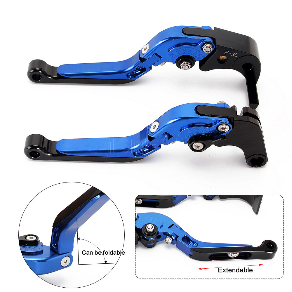 цены Motorcycle CNC Clutch Brake Levers For Suzuki GSXR1000 GSX R 1000 2007 2008 Foldable&Extendable motocross accessories parts